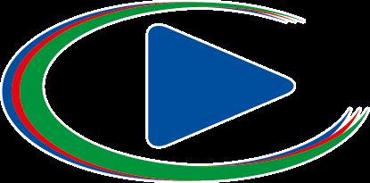 El logo del software DV Play para continuidad tv / playout tv